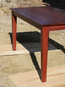 Cherry Shaker inspired dining table
