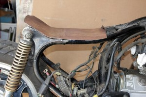 how to make custom motorcycle seat