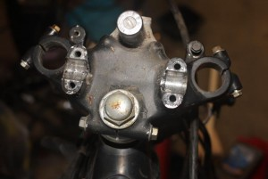 Honda CX500 Upper tri hole moount