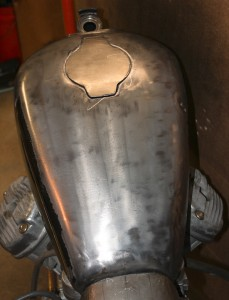 Custom fuel tank build CX500 Cafe Racer