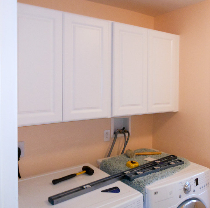 Tips for hanging cabinets on the wall
