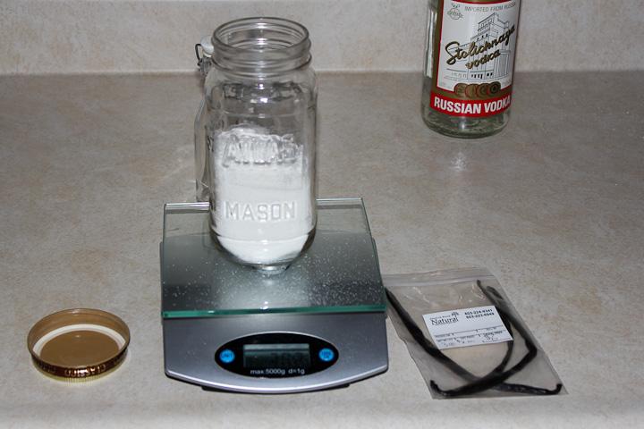 how to make Vanilla infused sugar