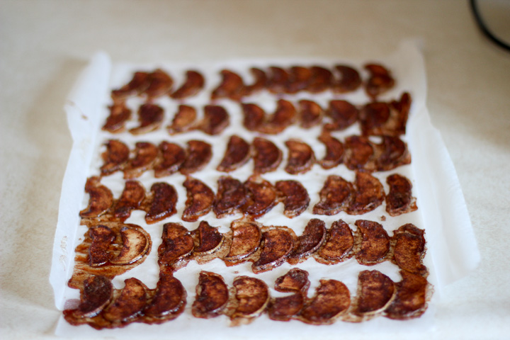 apple chips made at home