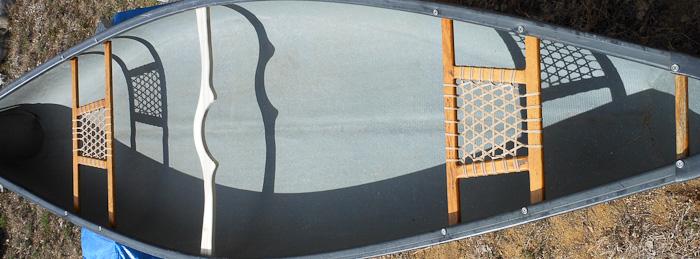Canoe Yoke Installed on my Canoe