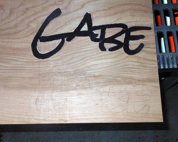 wood sign making templates - making name signs a fun project for kids projects by zac