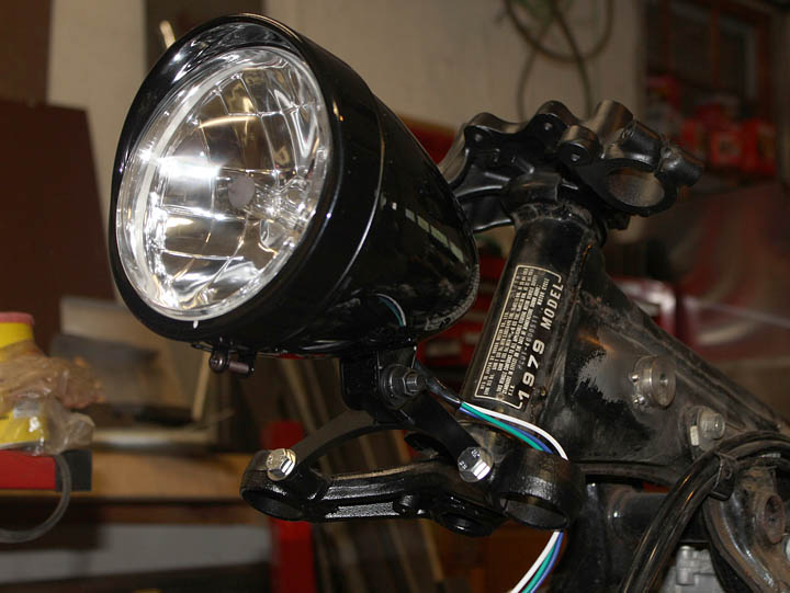 Honda CX500 Cafe Racer Headlight