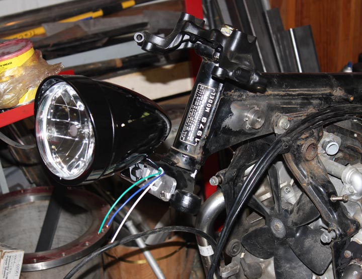 CX500 cafe racer headlight mount Ver 1.0