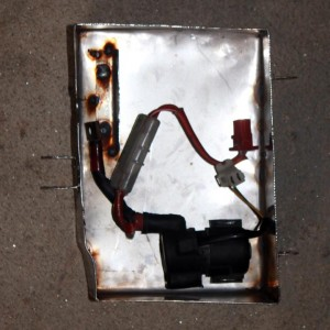 CX500 Starter solenoid inside battery box