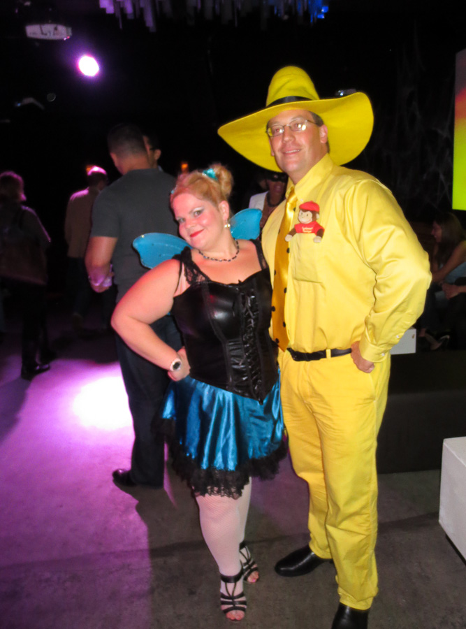 Man in the Yellow Hat Halloween Costume