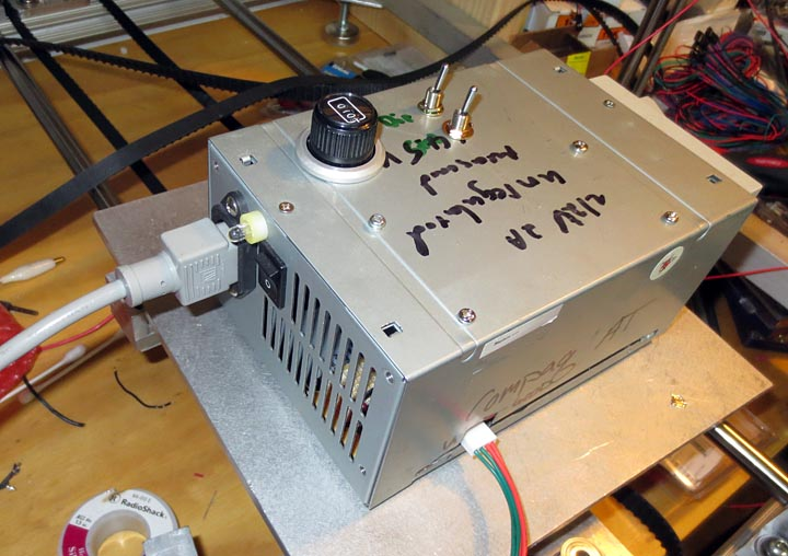 a cheap stepper motor drive based on a 555 and pololu