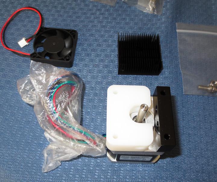 3d Printer head assembly MBE v9