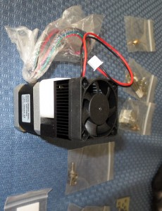 d printer head stepper extruder