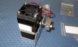 3d printer head stepper extruder