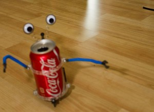 Tincan Robot action shot