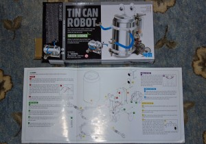 Tin Can Robot assembly Instruction