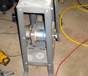 DIY metal cutting bandsaw