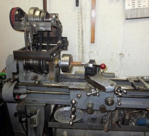 Making a spindle- metal cutting bandsaw conversion