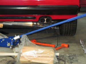 Ferrari 308 stainless steel exhaust build
