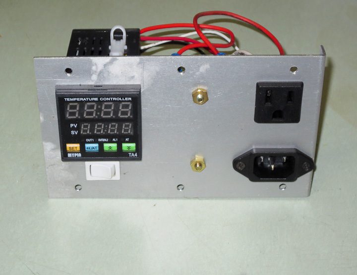 Assembling a PID temperature control box-1788