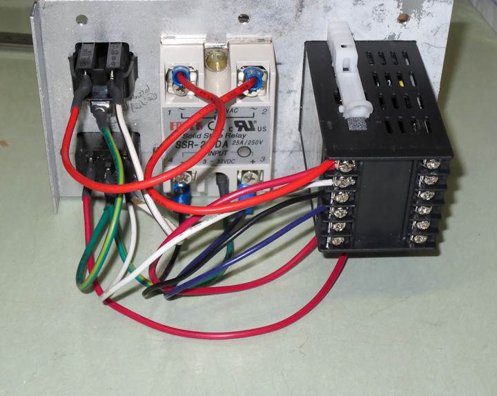 low cost pid control box for heating cooling projects by zac rh projectsbyzac com PID Temperature Control Wiring Diagram Wiring PID as Thermometer