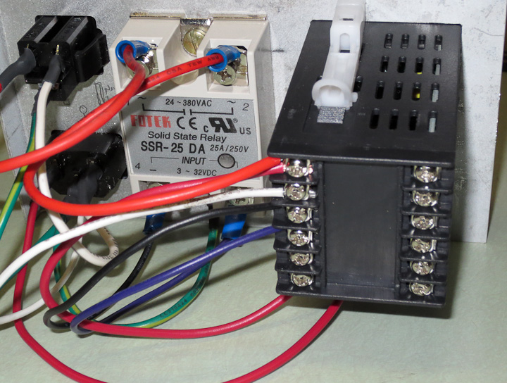 Low Cost Pid Control Box For Heating  Cooling
