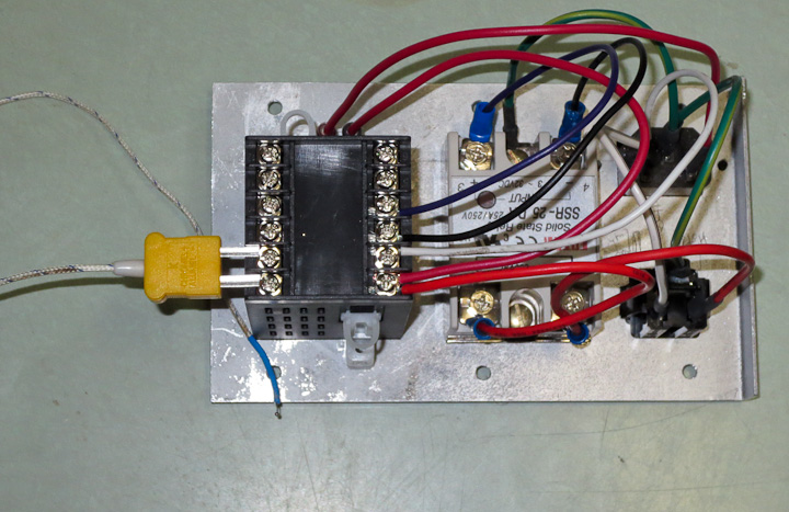 Wondrous Low Cost Pid Control Box For Heating Cooling Projects By Zac Wiring Digital Resources Indicompassionincorg
