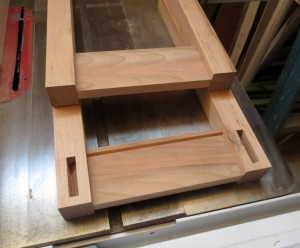 How to make a cherry end table -2191