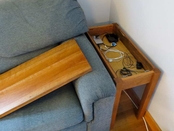 Simple to make Cherry End Table