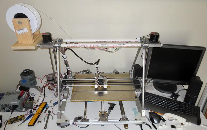reprap based large 3d printer