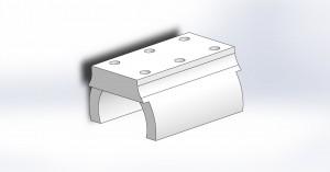 LME8UU bearing mount