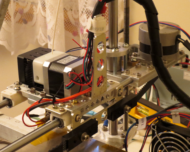 wire mounting on 3d printer