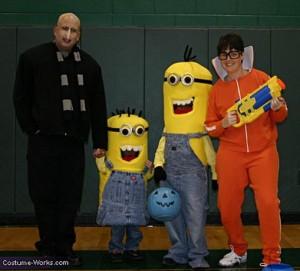 best minion costume family