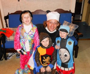 Kungfu panda with the kids
