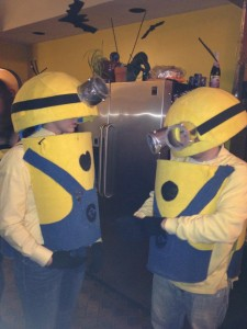 Minion Halloween Costume option 1a