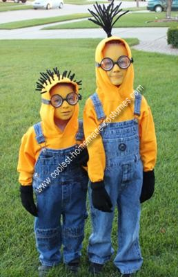 homemade-minions-costume-2 & How to Make a Minion Halloween Costume u2013 Part 1 u2013 Projects by Zac
