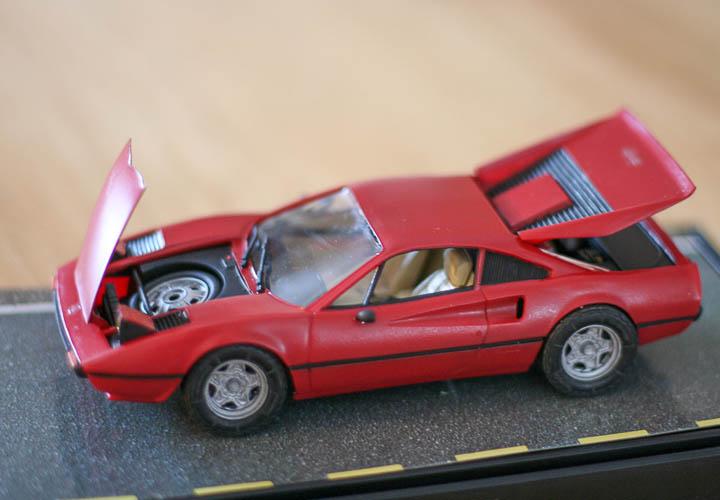 Custom Ferrari 308 Quatrovalvo model -0927