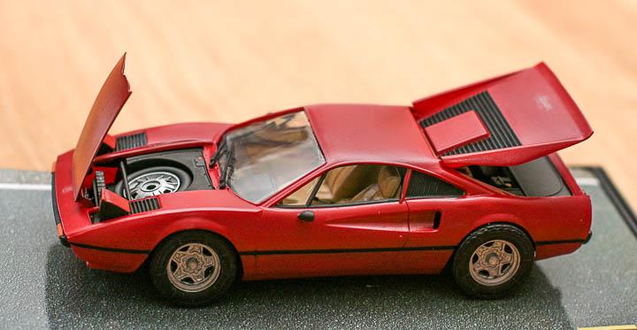 Ferrari 308 model built