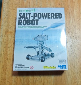 Salt Water Powered Robot Kit-7740