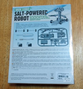 Salt Water Powered Robot Kit-7741