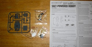 Salt Water Powered Robot Kit-7747