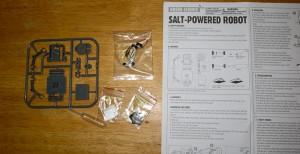 Salt Water Powered Robot Kit-7747