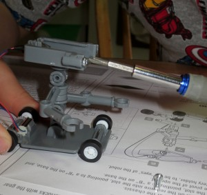 Salt Water Powered Robot Kit-7759