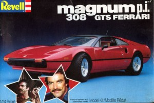 magnum PI Model Kit