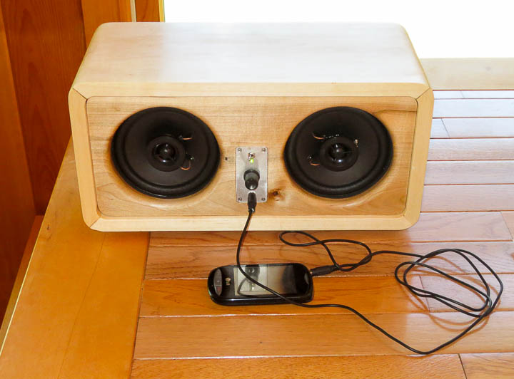 My Custom Designed 25W RMS ipod/mp3 Player Speaker Sound ...