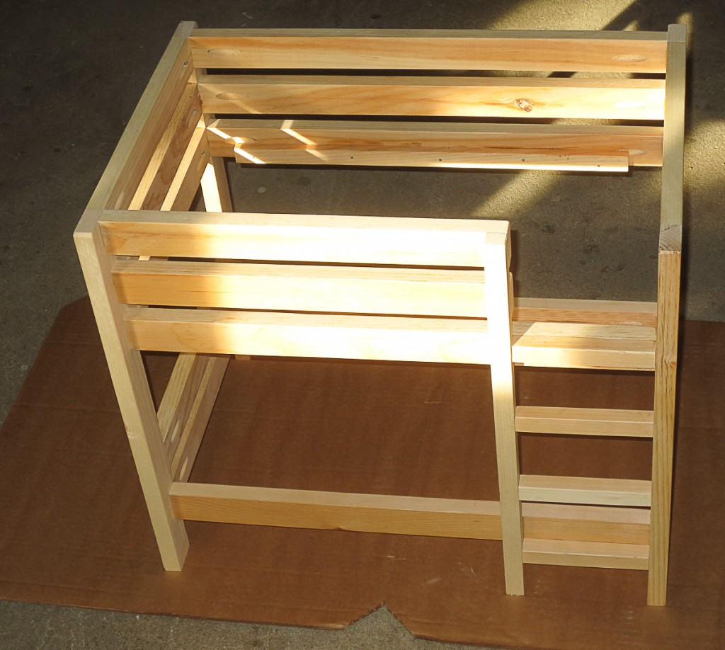 Building American Girl Doll Bunk Bed