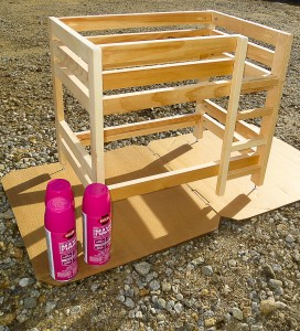 Tips for Painting unfinished furniture