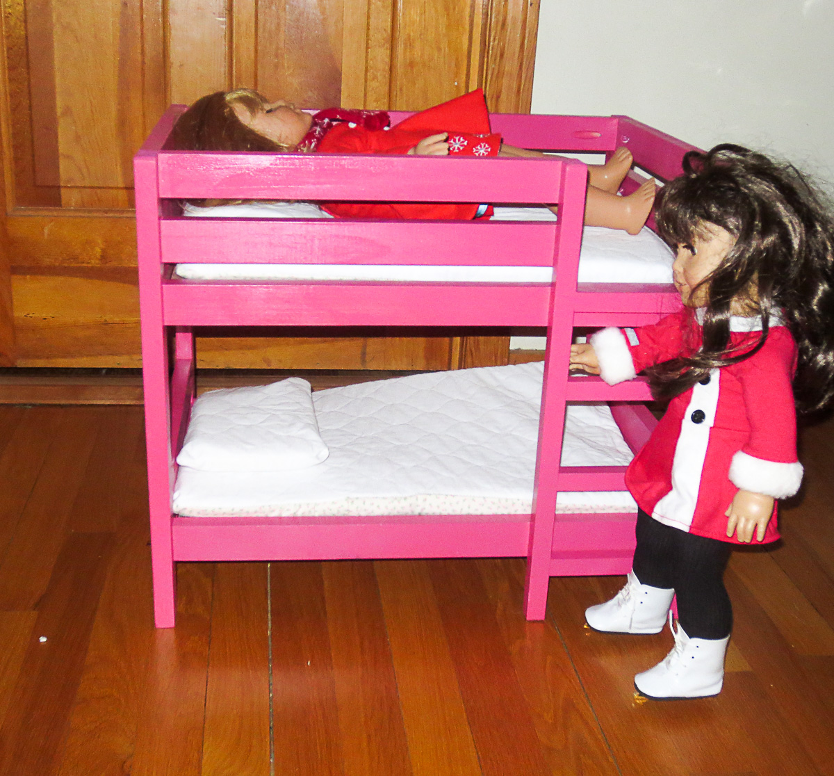 Tips For Furniture Finishing Demonstrated On The American Girl Doll