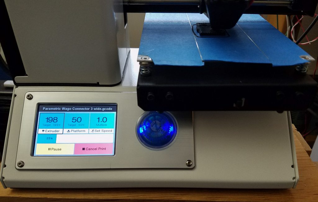 3D printer upgrade MP select Mini knob
