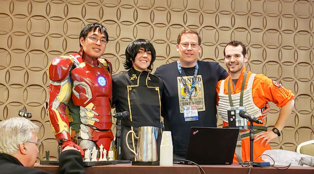 3d PRinting panel at Anime Boston